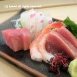 菊寿司 - 2012/10 お造り盛り合わせ