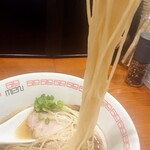 六九麺 - 麺はこんなかんじ。