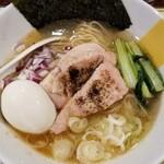 153724260 - イワシ出汁の鴨山椒焼らー麺(特別版)