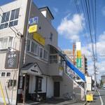 La Kasuga - 店舗外観。2階です。