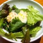 15373759 - ランチセットのサラダ
