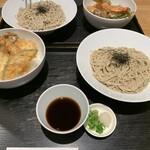 ISOGAMI FRY BAR - ざるそば+天丼