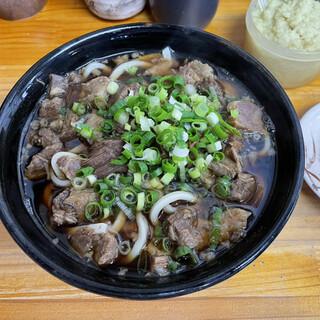 今浪うどん - 料理写真:肉肉うどん 小