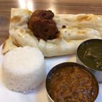 インディアン・パキスタンレストラン カナ - ライスはインディカ米