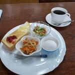 珈琲 晴子 - 料理写真:モーニング 400円