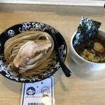 麺屋 たけ井 - 味玉つけ麺