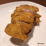肉バルサンダー - タンドリーチキンのブルスケッタ