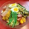 特製ラーメン 大中 - 料理写真:彩り夏野菜冷麺 750円