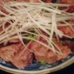 毛家麺店 - 鶏白レバー
