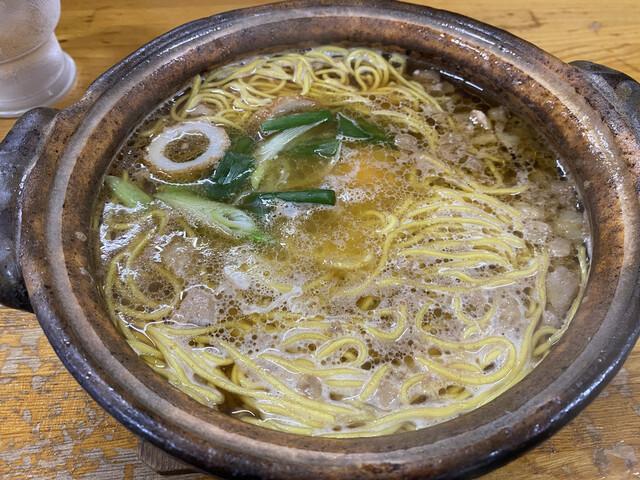 橋本食堂 - なべ焼きラーメン 並