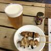 やきとり 秀吉 - 料理写真:生ビール やげん軟骨 ネギ間