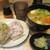 ダテ カフェ オーダー - 芋煮セット 850円+20円