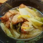 おんじき家ふうど - 豚と白菜のゆずこしょう煮!豚肉がゴロンゴロン入ってる