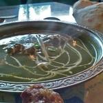インド・ネパール料理 RAJA - ほうれん草のカレー