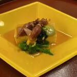 北瑞苑 - 今年初のほたるいか♡小さいけれど富山産は身が柔らかく美味しかったです。