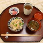 北瑞苑 - かまどご飯の白米も良いけれど炊き込みご飯が大好き♡浅利の良いお出汁が出ています!