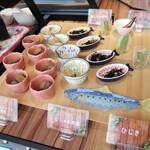 ビュッフェレストランAOW - ブッフェ台② 和のお惣菜たち
