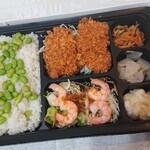 ガスト - やわらかひれかつ彩り弁当 ¥843(税込)