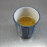 15378071 - 蕎麦茶。甘い香りが強かったです。