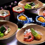 大文字屋 龍田川 - 旬の食材の滋味を大切にした料理
