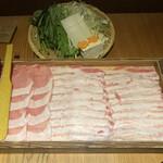 黒豚しゃぶしゃぶ 島津 - * 黒豚しゃぶしゃぶ 3,960円