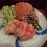 杢兵衛 - 鱧、鯛の梅肉和えUPH24.9