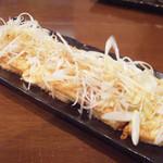 麺工房 武 - 焼き豆腐(400円)