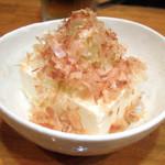 麺工房 武 - 冷奴(200円)