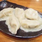 麺工房 武 - 手作り水餃子(5個300円)
