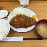 とんかつ山家 - ■上ロースかつ定食¥1200