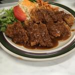 ハイライト食堂 - 料理写真:ビーフカツ