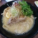 キラメキノトリ - 料理写真:鶏白湯ラーメン塩