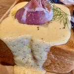 153811116 - チーズトーストセット