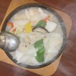 上海料理 寒舎 - 海鮮五目鉄鍋おこげ