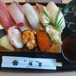 禧富寿司 - 料理写真:上生寿司(2200円)です。