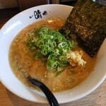麺や 晴 - 料理写真:中太とんこつ2021.06.29