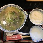 はるき茶屋 - 料理写真:「しじみラーメン」1,020円+「小ライス」160円