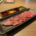 熟成焼肉 マルニク - 神戸牛のしんぞう刺し