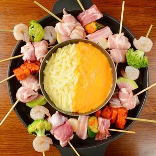 ◎韓国串×チーズの新グルメ!!当店名物『ピミルコッチ』