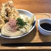 讃岐うどん 志成 - 料理写真:海鮮ぶっかけうどん¥960