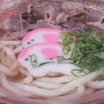お食事 だいせい - 今は・・夜のメニューから消えました。。。土佐和牛のお肉うどん750円