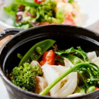 野菜の美味しさに驚かれる訳は?★看板★季節野菜のバリグール風