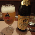 イタリア料理 ペロー - ヱビスビール