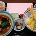 宮きしめん 伊兵衛 - 料理写真:天丼セット