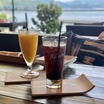 リ セト - アイスコーヒー&マンゴージュース