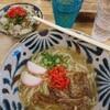 沖縄料理 あちこーこー - 料理写真:ソーキそば(800円)と、じゅーしー(セットで300円)