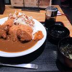 テング酒場 - チキンカツカレー650円