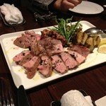15388514 - 霧島豚のTボーンステーキ