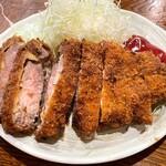 楽天 - 特ロースカツ定食