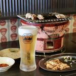 名古屋名物 とんちゃん屋 とん助くん - とんちゃんとビール
